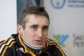 Иван Артеев (3-е место в дуатлоне 3.04.07) на пресс-конференции