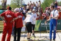 Анфиса Резцова и Сергей Крянин на финише - поздравления