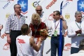 Анфиса Резцова пинимает поздравления от Евгения Дементьева