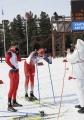 Иван Алыпов и Василий Рочев на финише первого этапа