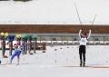 Финиш Машкова (2-е место) и Токарева (3-е место)