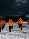 Оркестр Павлова на лыжах