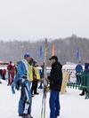 Дементьев , Крянин после финиша гонки