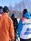 Доводка лыж перед стартом