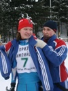 соперницы только на дистанции Лидия Неб (Х-М) и Бритякова Галиа (Советский)