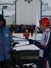 после гонки Фаттахов Дамир со своим тренером