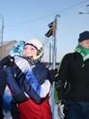 соперницы только на дистанции Веселова Кристина(Сургутский район) и Андреева Анастасия(Октябрьский район)