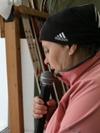 комментатор соревнований Пьянкова Л.П.