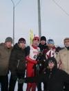 Антон Маковеев (2 место) со своей командой