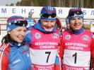 Юлия Иванова, Полина Медведева (№7), Виктория Мелина (№1)